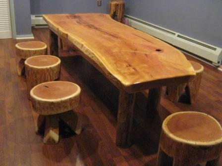 Сделать кухонный стол для дачи своими руками