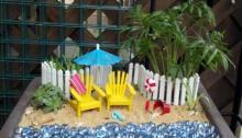 Как обустроить на даче мини-пляж