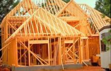 Стройка каркасного дома
